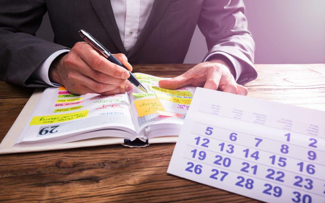 Határidőnapló – kulcs a sikerhez