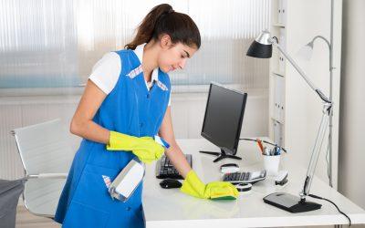 Az irodai higiénia biztosítása